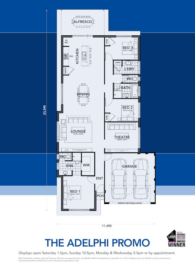 Elara 4 Bedroom Suite Floor Plan A Hilton Grand