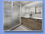 Home Builder Perth - Pivot doors to showers